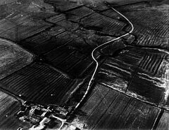 Medieval village earthworks at Hamilton  © Unknown