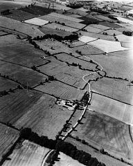 Medieval earthworks at Hamilton  © Unknown