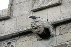 Gargoyle, Frisby on the Wreake church  © Leicestershire County Council