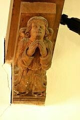 Angels, Newbold Verdon church  © Leicestershire County Council