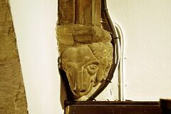 Corbel, Shepshed church  © Leicestershire County Council