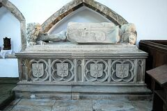 Tomb of Sir Everard Digby, St Peter's Church, Tilton on the Hill  © Leicestershire County Council