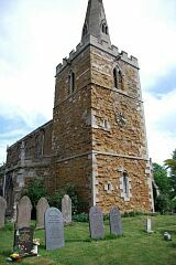 Church tower, St Peter's Church, Tilton on the Hill  © Leicestershire County Council