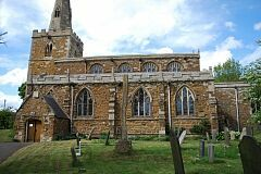 South elevation, St Peter's Church, Tilton on the Hill  © Leicestershire County Council