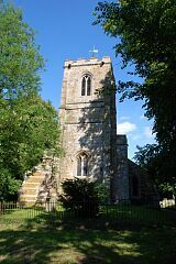 Church tower, St Peter's Church, Allexton  © Leicestershire County Council