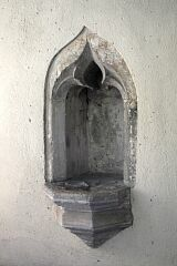 Niche, St Peter's Church, Allexton  © Leicestershire County Council