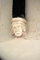 Corbel, St Mary's Church, Barkby  © Leicestershire County Council