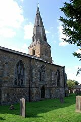 North elevation, St Mary's Church, Barkby  © Leicestershire County Council
