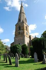 Church tower, St Mary's Church, Barkby  © Leicestershire County Council