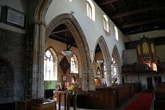Nave, St Mary's Church, Barkby  © Leicestershire County Council