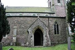 Church porch, All Saints Church, Seagrave  © Leicestershire County Council