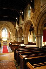 Nave, All Saints Church, Theddingworth  © Leicestershire County Council
