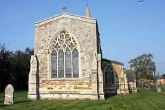 East window, St Leonard's Church, Thorpe Langton  © Leicestershire County Council