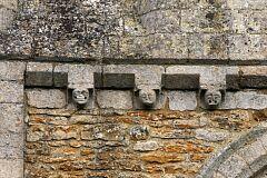Frieze, St Leonard's Church, Thorpe Langton  © Leicestershire County Council