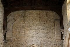 Roof scar, St Leonard's Church, Thorpe Langton  © Leicestershire County Council