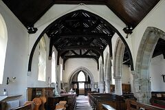 Nave, All Saints Church, Thurcaston  © Leicestershire County Council