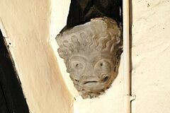 Corbel, All Saints Church, Thurcaston  © Leicestershire County Council