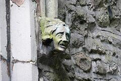 Label stop, All Saints Church, Thurcaston  © Leicestershire County Council