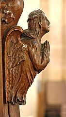 Bench end  © Leicestershire County Council