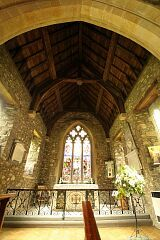 Chancel roof  © Leicestershire County Council