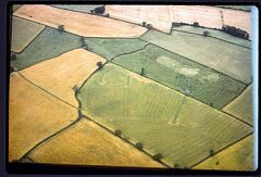 Iron Age enclosure north of Newhall Farm  © LCC