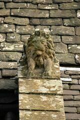 Beaumont Lion (probably 1878)  © Leicestershire County Council