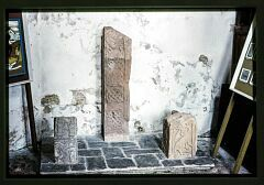 Saxon cross fragments  © Leicestershire County Council