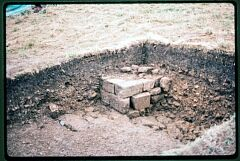 1983 excavation of Bishops Palace  © Leicestershire County Council
