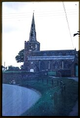 Church of St. Peter, looking north  © Leicestershire County Council