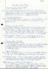 Notes on Peckleton moat  © Leicestershire County Council